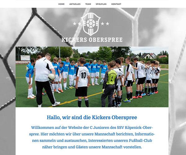 Kickers Oberspree Homepage