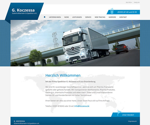 Spedition Koczessa Foto Homepage