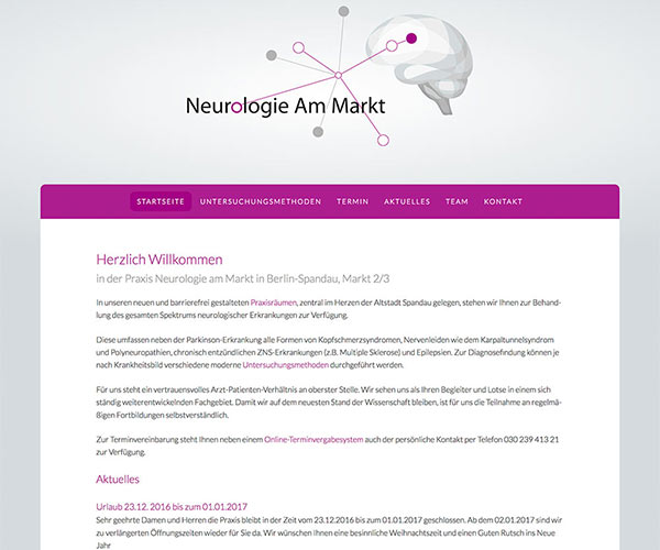 Neurologie Homepage