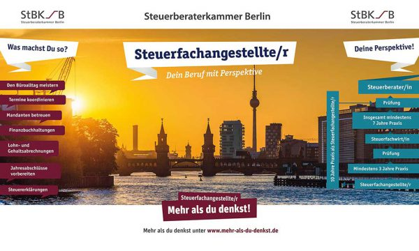 Plakat Steuerberaterkammer-Berlin